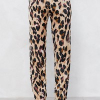 So Fierce Leopard Pants