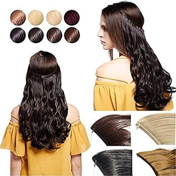 """Halo Hair Extensions 20"""""""