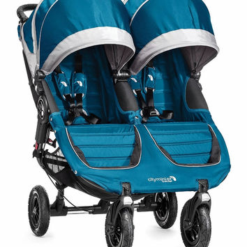 Baby Jogger City Mini GT Double Twin All Terrain Stroller Teal