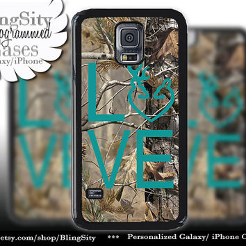 Buck Doe Love Heart Galaxy S4 case S5 Camo Turquoise Browning Real Tree Deer Camo Samsung Galaxy S3 Case Note 2 3 4 Cover Country Girl