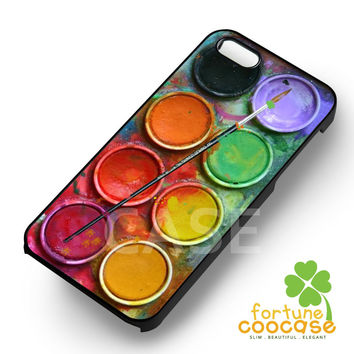 Watercolor Palettes tool for painting -SrnD for iPhone 6S case, iPhone 5s case, iPhone 6 case, iPhone 4S, Samsung S6 Edge