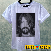 Dave Grohl smoking Foo Fighters Women T Shirt