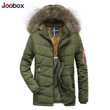 Winter Jacket Warm jackets Coat Men High Quality Thicken Clothing Male Casual Slim Fit Zip Up Hooded Jackets Puffer Coats