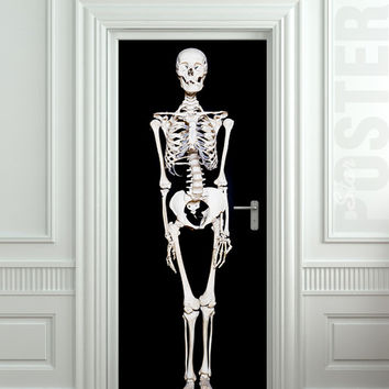 "Door STICKER Halloween All Hallows Evening mural decole film self-adhesive poster 30""x79""(77x200 cm)"