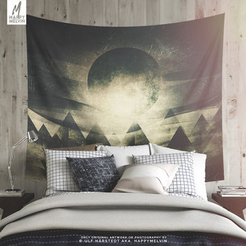 Moon Children | Wall tapestry | Tapestry | Moon Wall Tapestry | Boho Wall Tapestry  | Wanderlust Tapestry | Wall Tapestries | 3 Sizes | Gift