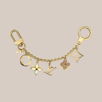 Fleur de Monogram Bag Charm Chain - Louis Vuitton - LOUISVUITTON.COM