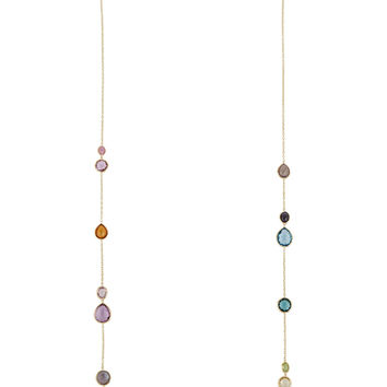 Ippolita - Rock Candy Lollipop 18-karat gold multi-stone necklace
