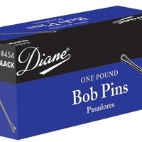 "Diane 2"" Bobby Pins, Black, 1lb Box"
