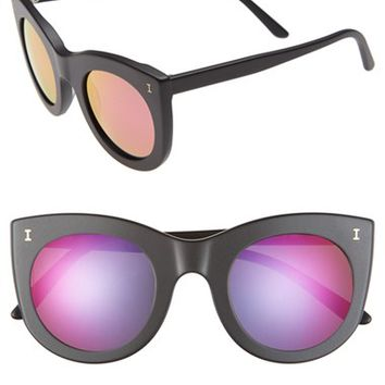Women's Illesteva 'Boca' 47mm Round Sunglasses