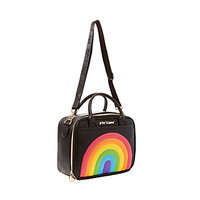 CHOW BELLA RAINBOW LUNCH TOTE: Betsey Johnson