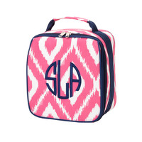 Pink IKAT Lunchbox