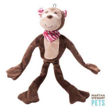 Martha Stewart Pets Safari Animal Dog Toys - Monkey