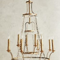 Tiered Vendome Chandelier by Anthropologie in Clear Size: One Size Lighting