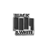 Black & White Film Enamel Lapel Pin