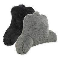 Warmly Shaggy Faux-Fur Backrest Pillow