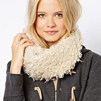 ASOS Faux Mongolian Funnel Snood