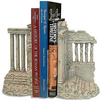 Greek Acropolis Porch of Maidens Erechtheum Famous Monuments Bookends 8H - 5085