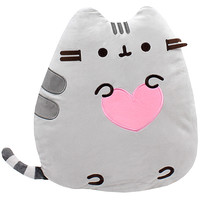 Buy Pusheen the Cat with Heart Sitting Up Cushion at ARTBOX