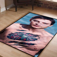 Tobey maguire Spiderman Logo BLanket Throws Quilts Winter Idea Gift Birthday