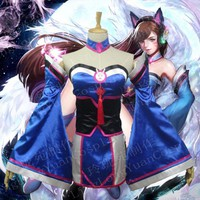 Overwatch Cosplay Dva Ahri Full Cosplay