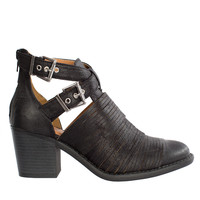 Jane Buckled Booties