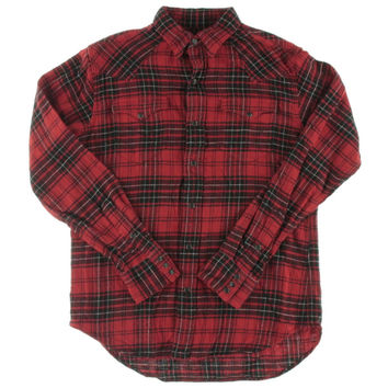 Polo Ralph Lauren Mens Twill Plaid Button-Down Shirt