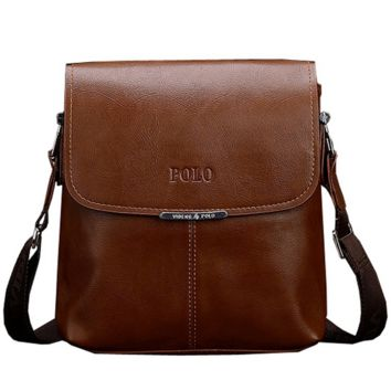 High Quality Casual Business Leather Messenger Bag For Man Luxury Brand Men Bags Fashion Crossbody Bag