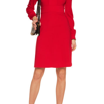Leyah wool dress | Diane von Furstenberg | US | THE OUTNET