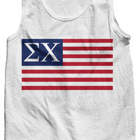 Sigma Chi USA Tank Top