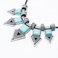 Arrows Necklace in Turquoise - Urban Outfitters