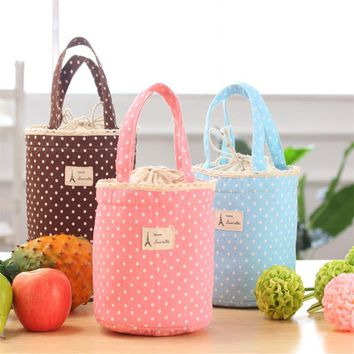 Home Wider Hot Sell Thermal Insulated Lunch Bag Cooler Bag Tote Bento Pouch Lunch Container Drop Shipping