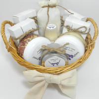 "Free Shipping! Bridal Basket For Bride, ""The Jaclyn"" Handmade Soap and Body Products"