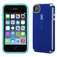 Speck CandyShell Case for iPhone® 4/4S - Cadet Blue/Caribbean Blue