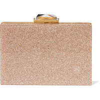 Kotur - Taylor glittered Perspex box clutch