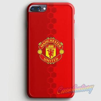 Manchester United Adidas The Red Devil iPhone 7 Plus Case | casefantasy