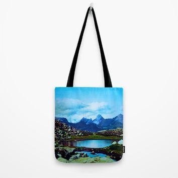 Vacation Tote Bag by Jessica Ivy