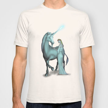 Unicorn T-shirt by Egberto Fuentes