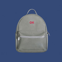 OK PU Leather Backpack