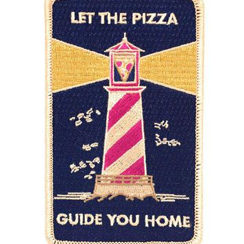 Pizza Lighthouse Large Patch