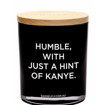 Humble With Hint of Kanye XL Candle