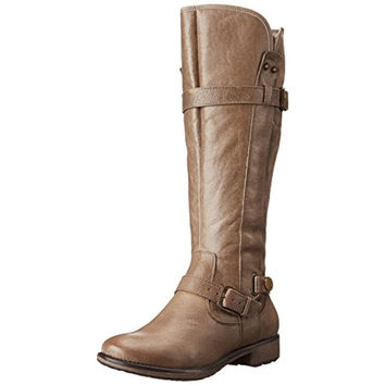 Baretraps Womens Sheree Leather Knee-High Snow Boots