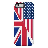 American and Union Jack Flag iPhone 6 Case