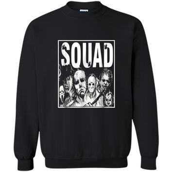 Family Cruise Squad 2018  funny halloween gift Printed Crewneck Pullover Sweatshirt
