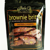 Sheila G's Brownie Brittle Salted Caramel 4 oz Bags - Pack of 6