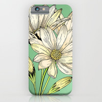 Daisy Flowers - Wild Flowers - Nature iPhone & iPod Case by Salome