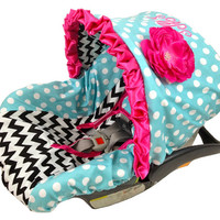 Infant Car Seat Cover for Peg Perego SIP 30 Infant car seat, ADORABLE and made to fit your Peg