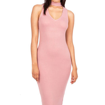 Charmed Choker Neck Dress