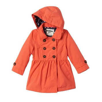 OshKosh B'gosh Double-Breasted Trench Coat - Baby