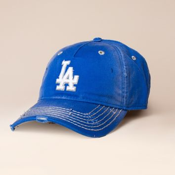 Distressed LA Dodgers Hat by American Needle - ShopKitson.com