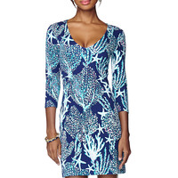 Lilly Pulitzer Clarke V-Neck French Terry Dress